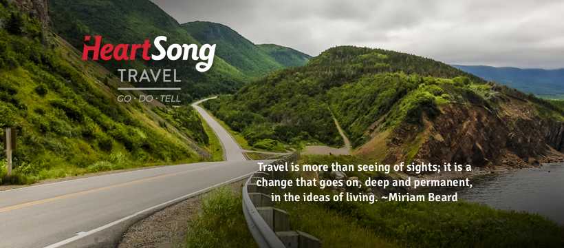 HeartSong Travel now live!